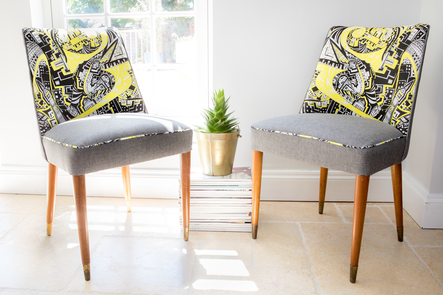Kirsty Riddell homeware dining chairs