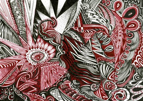 Maroon By Kirsty Riddell Artist