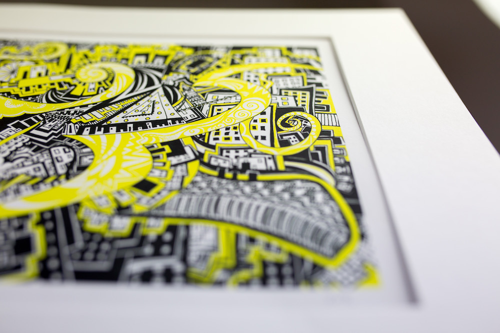 Yellow Brick Road I print Kirsty Riddell
