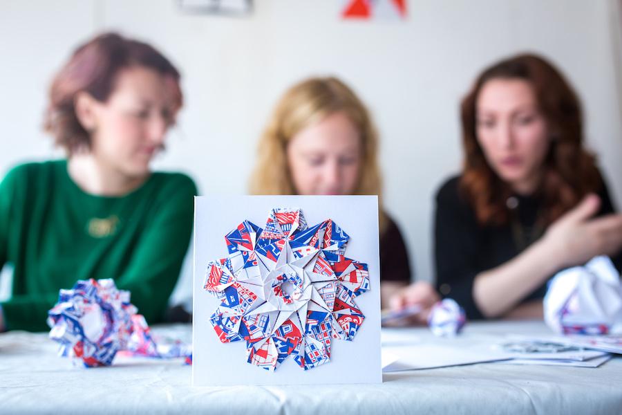 origami in studio