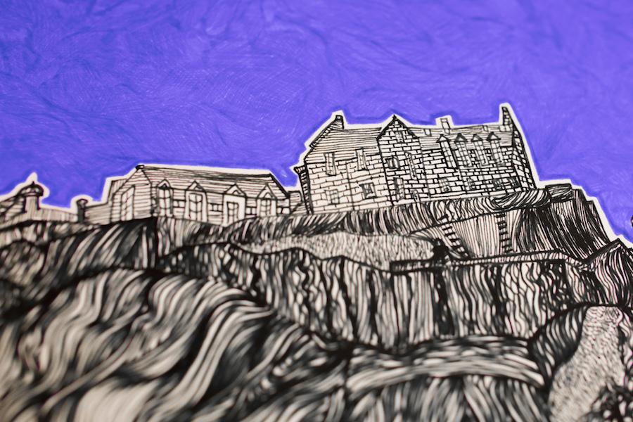 Edinburgh Castle print