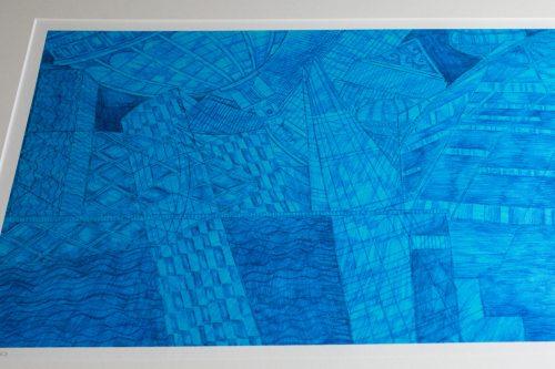 Kirsty Riddell London Blue print