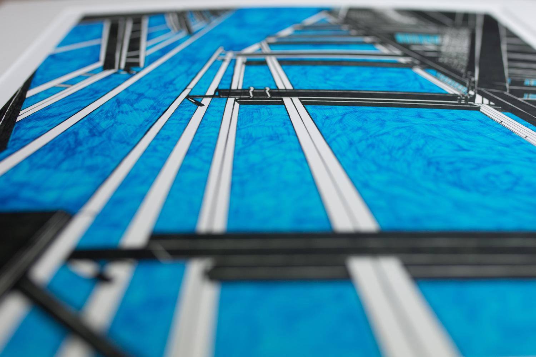 'Shard London' print Kirsty Riddell