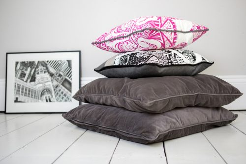 Kirsty Riddell cushion stack