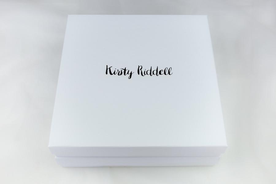 Kirsty Riddell scarf box