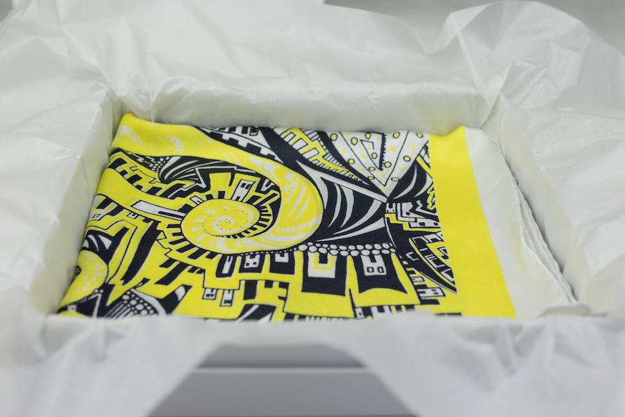 Scarf in box Kirsty Riddell