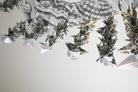 Origami installation art