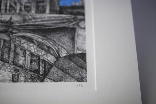 Liverpool Tate Print Kirsty Riddell
