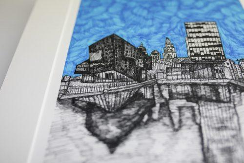 Liverpool Waterfront Print KR