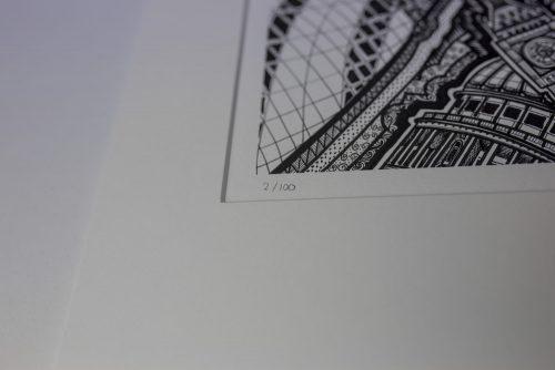 London BW III Print