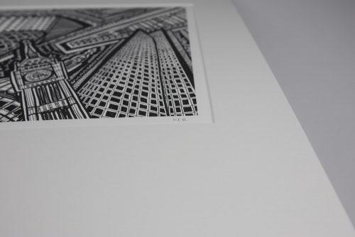 London BW III Print KR