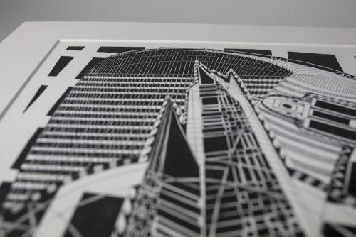 Print London BW II