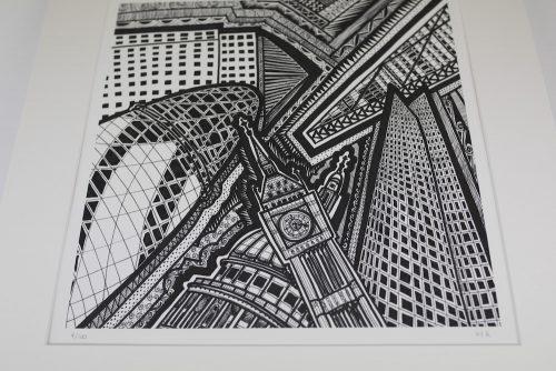 Print London BW III