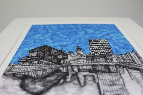 Waterfront Liverpool Print