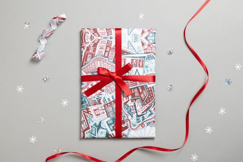 KR Christmas wrapping paper