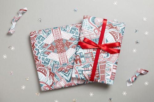 KR wrapping paper