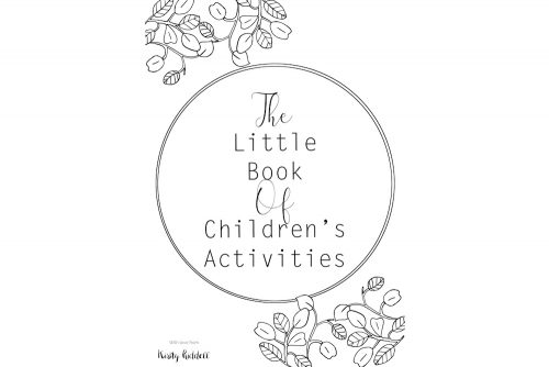 Childrens activity book website cover
