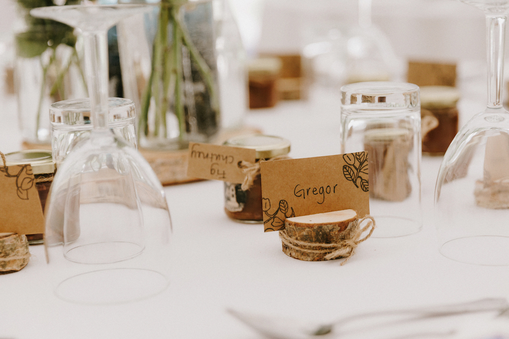 Wedding Favours and place cards
