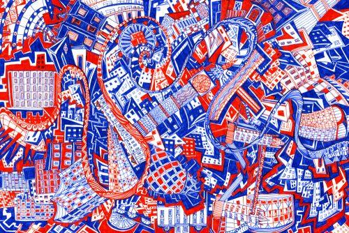 London R&B Drawing