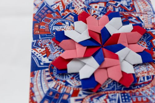 LondonR&B Origami Postcard