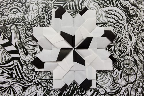 Zentangle Origami