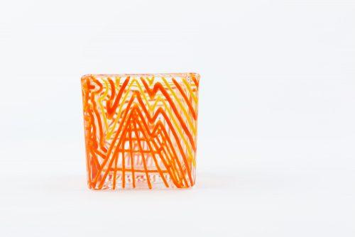 Orange Tea Light