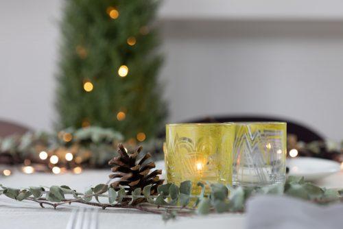 Tea lights christmas