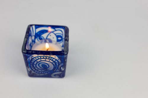 Square tea light