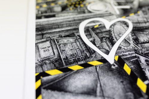 '2m of Love' Kirsty Riddell