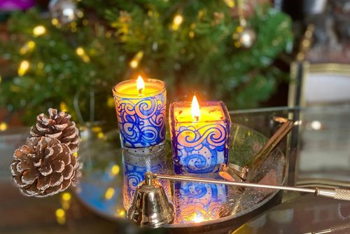 Lanji Candles Christmas